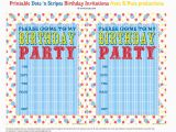 Free Printable Invitations Birthday Party Bnute Productions Free Printable Dots 39 N Stripes Birthday