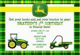 Free Printable John Deere Birthday Invitations Birthday Invitations John Deere Farm Birthday
