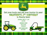 Free Printable John Deere Birthday Invitations Birthday Invitations John Deere Farm Birthday