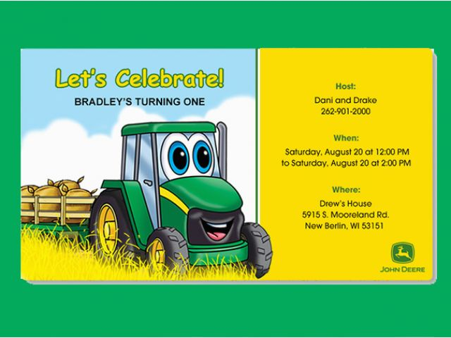 Download By SizeHandphone Tablet Desktop Original Size Back To Free Printable John Deere Birthday Invitations