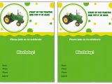 Free Printable John Deere Birthday Invitations John Deere Birthday Invitations Birthday Printable