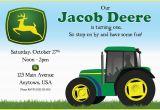 Free Printable John Deere Birthday Invitations John Deere Birthday Party Invitations Best Party Ideas