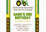 Free Printable John Deere Birthday Invitations John Deere Inspired Printable Invitation 1 Diy Green Yellow