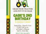 Free Printable John Deere Birthday Invitations John Deere Inspired Printable Invitation 1 Diy Green Yellow