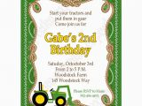 Free Printable John Deere Birthday Invitations John Deere Inspired Printable Invitation 5 Diy Green Yellow