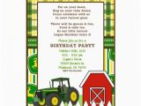 Free Printable John Deere Birthday Invitations Large John Deere Invitation Templates John Deere