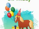 Free Printable Kid Birthday Cards 6 Best Images Of Free Printable Horse Birthday Cards