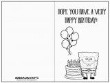 Free Printable Kid Birthday Cards 7 Best Images Of Printable Folding Birthday Cards for Kids