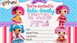 Free Printable Lalaloopsy Birthday Invitations 40th Birthday Ideas Lalaloopsy Birthday Invitation