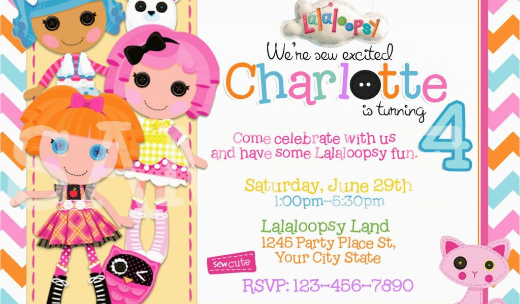 Download By SizeHandphone Tablet Desktop Original Size Back To Free Printable Lalaloopsy Birthday Invitations