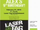 Free Printable Laser Tag Birthday Party Invitations 9 Best Images Of Laser Tag Invitations Free Printable