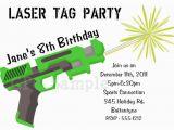 Free Printable Laser Tag Birthday Party Invitations Free Printable Laser Tag Birthday Party Invitations