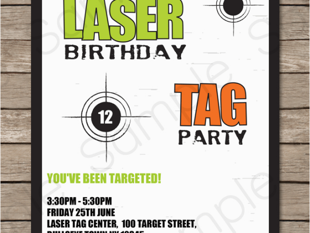 Download By SizeHandphone Tablet Desktop Original Size Back To Free Printable Laser Tag Birthday Party Invitations