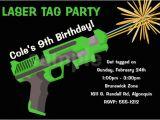 Free Printable Laser Tag Birthday Party Invitations Laser Tag Birthday Invitations Ideas Free Bagvania Free