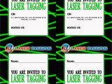 Free Printable Laser Tag Birthday Party Invitations Laser Tag Free Printables Laser Tag Invitations