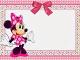 Free Printable Minnie Mouse 1st Birthday Invitations Minnie Mouse Free Printable Invitation Templates