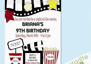 Free Printable Movie Themed Birthday Invitations 40th Ideas Party Invitation Templates
