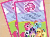 Free Printable My Little Pony Birthday Invitations Free Printable My Little Pony Birthday Invitation Set