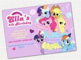 Free Printable My Little Pony Birthday Invitations Items Similar to My Little Pony Invitation Printable