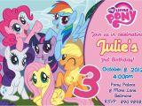 Free Printable My Little Pony Birthday Invitations My Little Pony Birthday Party Invitations Free Printable