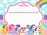Free Printable My Little Pony Birthday Invitations Updated Free Printable My Little Pony Birthday