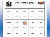 Free Printable Over the Hill Birthday Cards Over the Hill Birthday Party Bingo Game 60 Cards Old Age