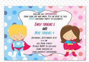 Free Printable Personalised Birthday Cards Superhero Invitation Card Personalized