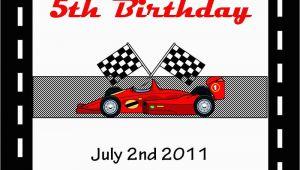 Free Printable Race Car Birthday Invitations 5 Best Images Of Race Car Invitations Printable Race Car
