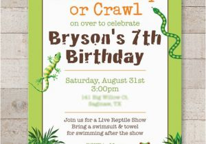 Free Printable Reptile Birthday Invitations Reptile Birthday Invitations Safari Jungle Bugs