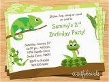 Free Printable Reptile Birthday Invitations Reptile Birthday Party Invitation by eventfulcards Catch
