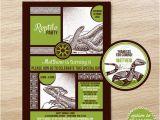 Free Printable Reptile Birthday Invitations Reptile Invitation Printable Reptile Birthday Invite