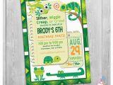 Free Printable Reptile Birthday Invitations Reptile Invitation Reptile Birthday Invitation Reptile
