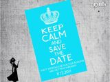 Free Printable Save the Date Birthday Invitations 80 Best Images About 40th Birthday Party Ideas On