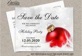 Free Printable Save the Date Birthday Invitations Christmas Party Invitation Save the Date Diy Printable