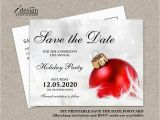 Free Printable Save the Date Birthday Invitations Christmas Party Invitation Save the Date Diy Printable