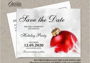 Save The Date Christmas Party Template Free.Free Printable Save The Date Birthday Invitations Save The