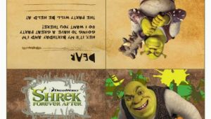 Free Printable Shrek Birthday Invitations Free Printable Shrek Party Invitation Mama Likes This