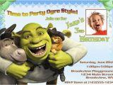 Free Printable Shrek Birthday Invitations Personalized Photo Invitations Cmartistry Shrek Donkey