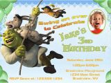 Free Printable Shrek Birthday Invitations Personalized Printable Invitations Cmartistry