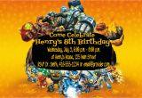 Free Printable Skylanders Birthday Invitations Diy Skylanders Giants Birthday Party Invitations Summer