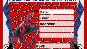 Free Printable Spiderman Birthday Party Invitations Free Birthday Invitations to Print Drevio Invitations Design