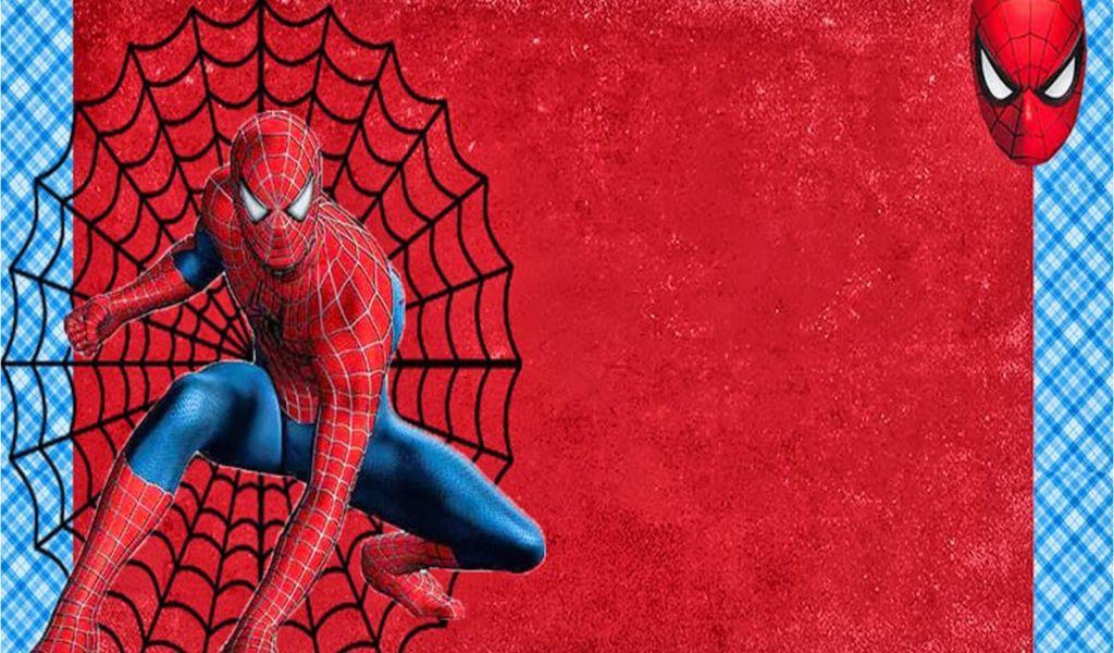Free Printable Spiderman Birthday Party Invitations