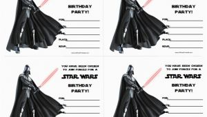 Free Printable Star Wars Birthday Invitations Star Wars Birthday Invitations Free Printable