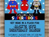 Free Printable Superhero Birthday Cards Superhero Birthday Invitation Superhero Invitation