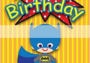 Free Printable Superhero Birthday Cards Happy Card Www Pixshark Com Images