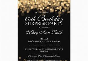Free Printable Surprise 60th Birthday Invitations Invitation Wording Dolanpedia