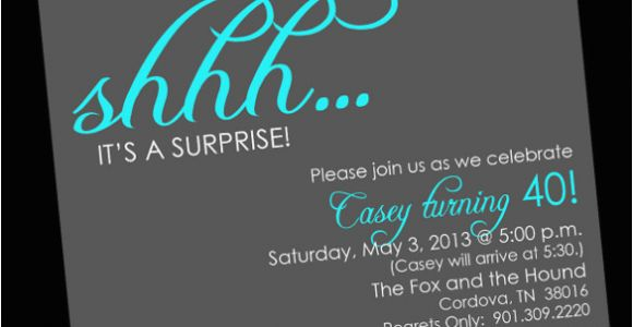 Free Printable Surprise Birthday Invitations Template 26 Surprise Birthday Invitation Templates Free Sample