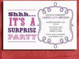 Free Printable Surprise Birthday Invitations Template Items Similar to Vintage Style Surprise Birthday