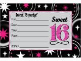 Free Printable Sweet 16 Birthday Party Invitations 16 Birthday Invitation Templates Invitation Template