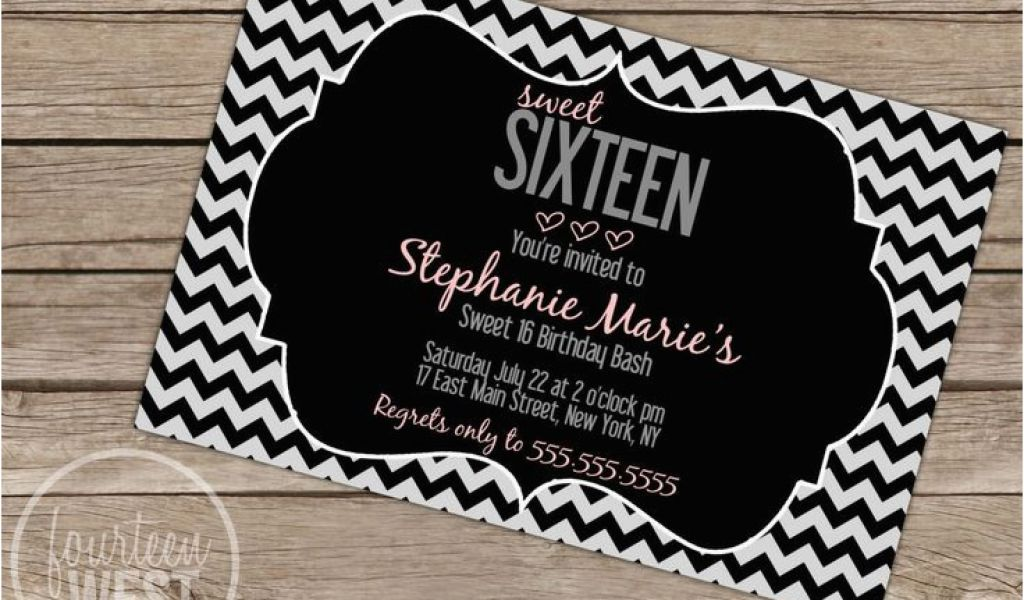 graphic regarding Printable Sweet 16 Invitations named Totally free Printable Lovable 16 Birthday Social gathering Invites 7 Easiest